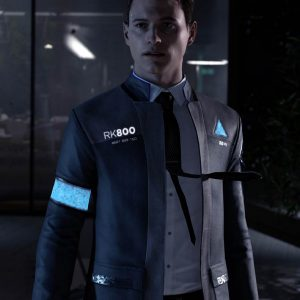 FAMOUS VIDEO GAME DETROIT BECOME HUMAN CONNOR LONG COAT