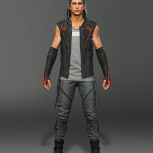EDGE CATALYST ICARUS LEATHER VEST