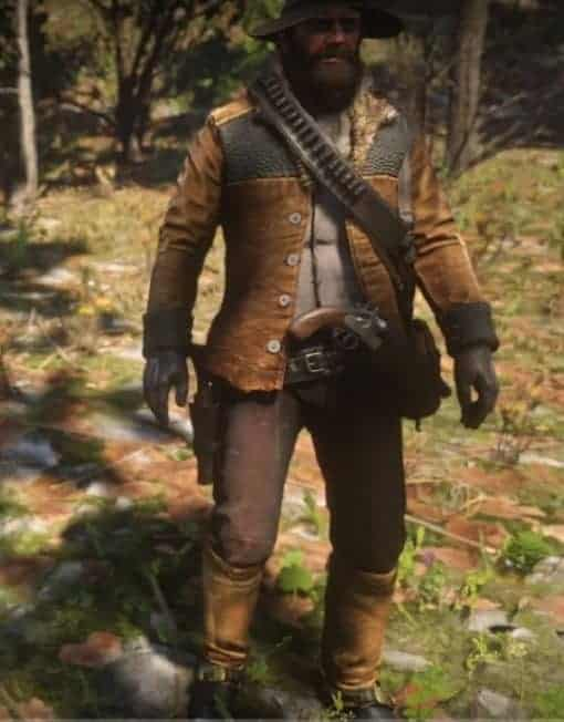 FAMOUS VIDEO GAME RED DEAD REDEMPTION 2 JACKET