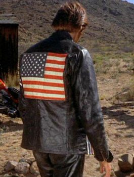 Attractive Peter Fonda Easy Rider Leather Jacket