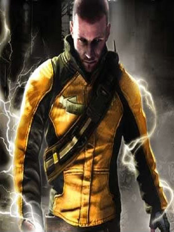 COLE MACGRATH INFAMOUS BLACK AND YELLOW JACKET