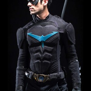DANNY SHEPHERD NIGHTWING LEATHER JACKET