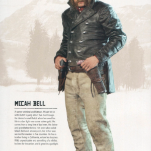 RED DEAD REDEMPTION 2 MICAH BELL