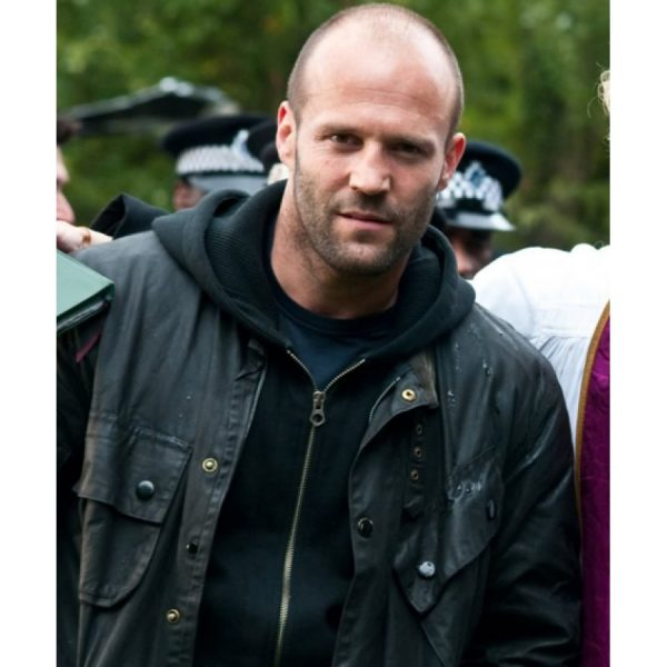 Blitz movie Tom Brant Jason Statham Leather Jacket