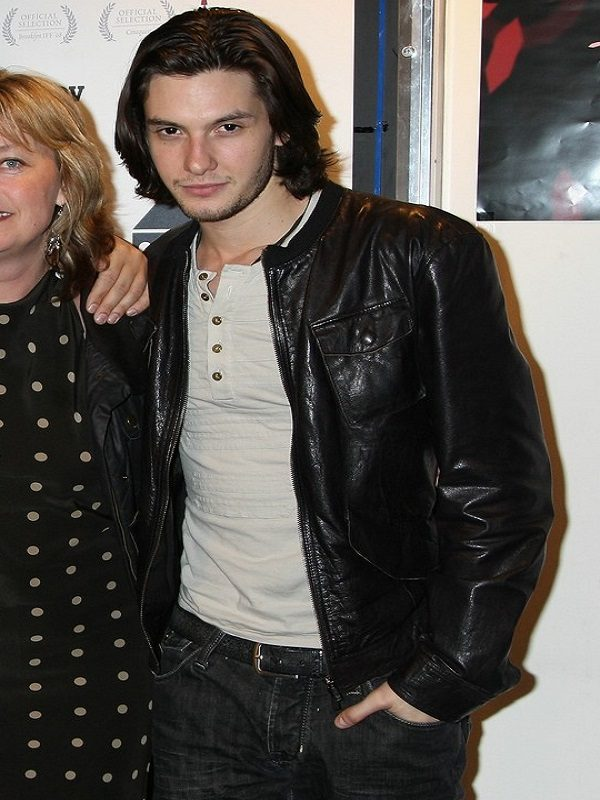 British Actor Ben Barnes Leather Jacket