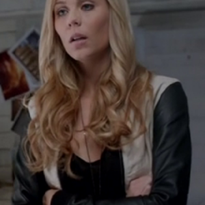 Bitten TV Series Laura Vandervoort Leather Jacket