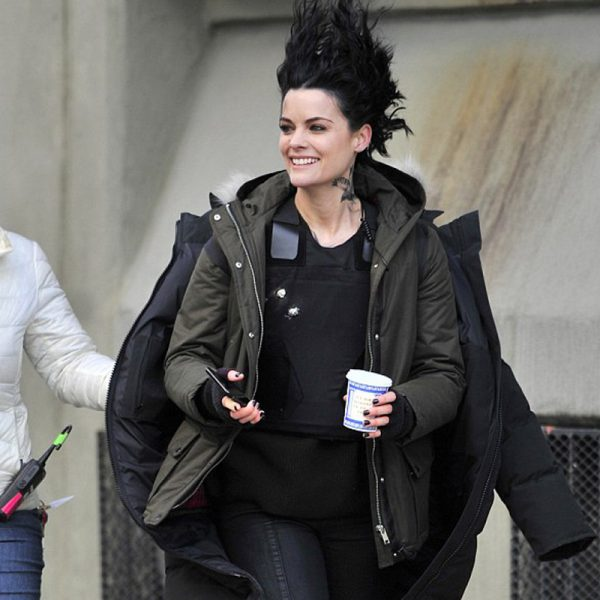 Blindspot Jaimie Alexander Army Green Jacket