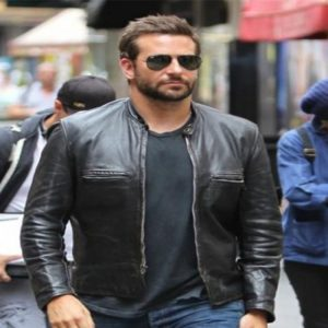 Get online order Bradley Cooper Adam Jones Leather Jacket replica