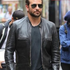 Bradley Cooper Adam Jones Leather Jacket