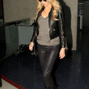 Brandi Glanville Black Leather Jacket