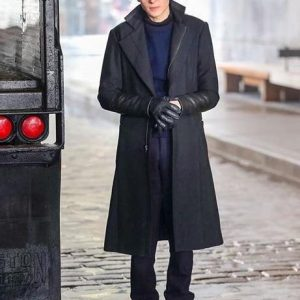 Bruce Wayne Gotham David Mazouz Wool Coat