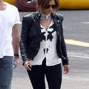 Cheryl-Cole-Elegant-Black-Jacket
