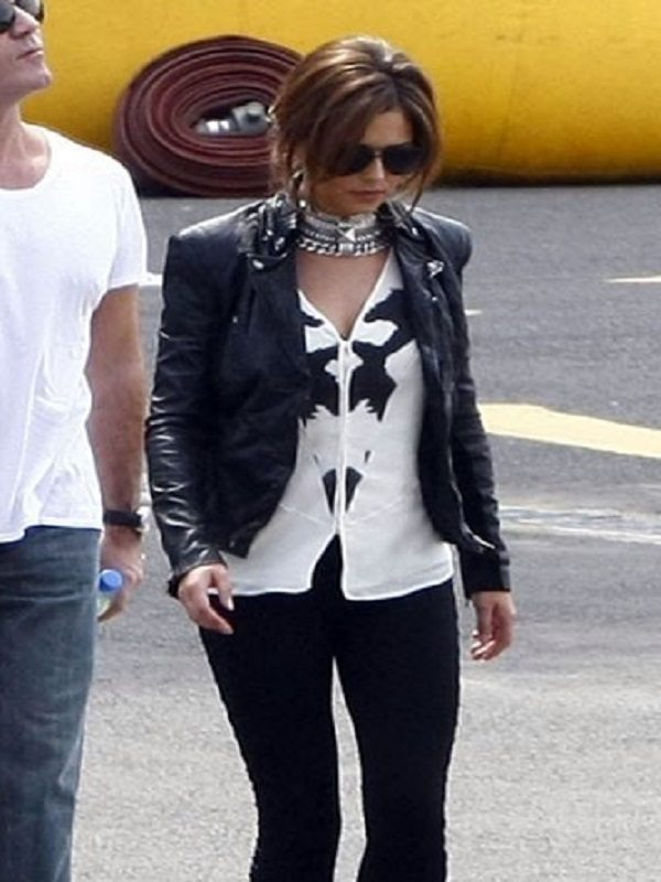 Cheryl Cole Elegant Black Jacket