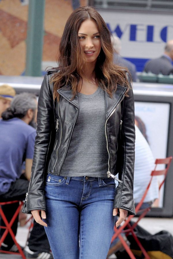 Chic Shooting Time TMNT 2 Megan Fox Jacket