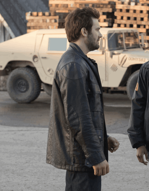 Clive Standen Style Leather Replica Jacket