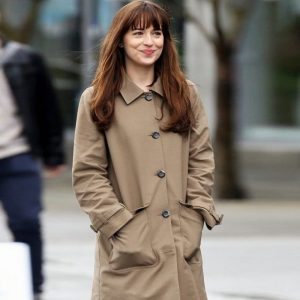 Dakota Johnson Fifty Shades Coat