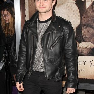 Daniel Radcliffe Motorcycle Black Jacket
