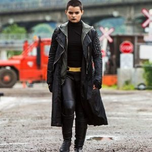 Brianna Hildebrand style Dead Pool Negasonic Teenage Warhead Coat