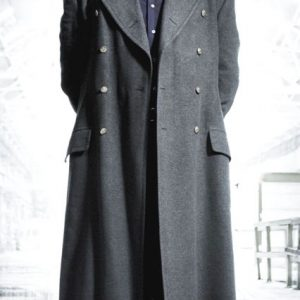 Captain Jack Harkness Fashion Wool Trench Coat