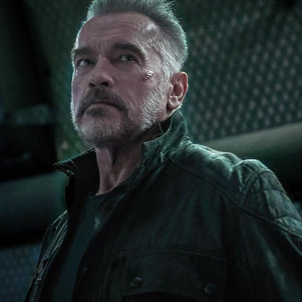Arnold Schwarzenegger Replica Jacket in Movie Terminator Dark Fate