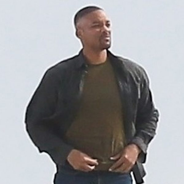 Will Smith leather movie Jacket Replica in Gemini Man Movie