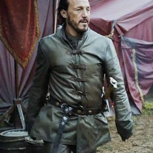 Game Of Thrones Bronn Jerome Flynn Leather Jacket