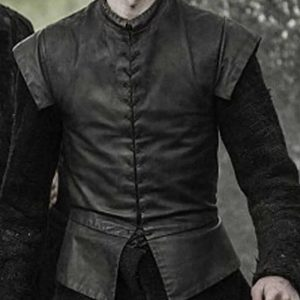 Game of Thrones Season 7 Bran Stark Leather Vest