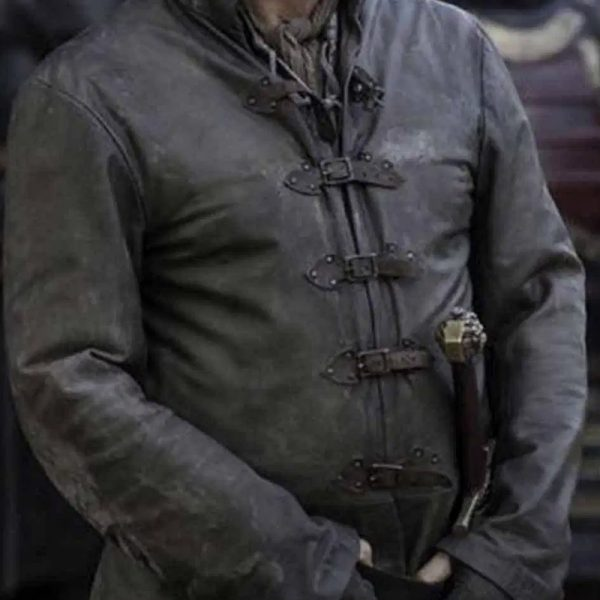 Mens trendy jackets: Game of Thrones Movie Replica Jacket Inspired By Jerome Flynn