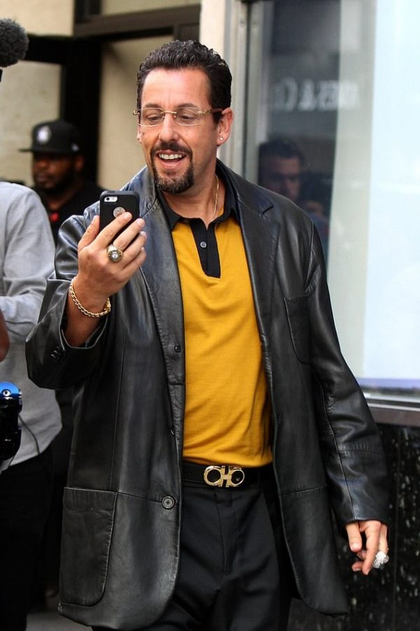 Uncut-Gems-Adam-Sandlers-Coat-Leather-Coat