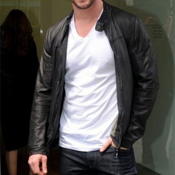 Chris Hemsworth - Rider Jacket In Leather