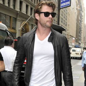 Leather Jacket For Bikers - Chris Hemsworth Style