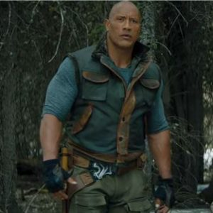 Leather Vest Dwayne Johnson Jumanji 3