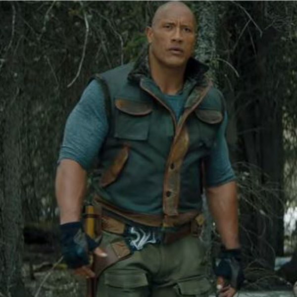 Movie Clothes Replica - Leather Vest Dwayne Johnson Jumanji 3