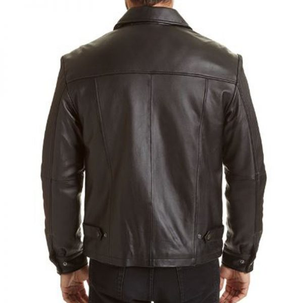 Open Bottom Jacket Mens - Back View