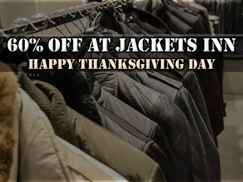 60% Off On Thanksgiving Day