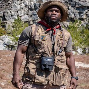Kevin Hart Camouflage Vest - Jumanji the Next Level Fridge