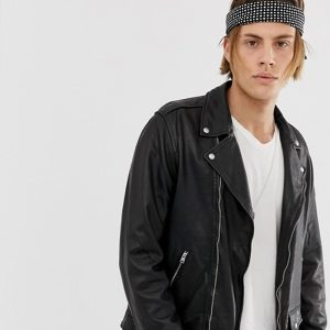 Buy men leather jacket with stylish look