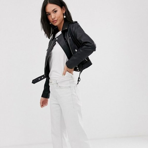 Leather Biker Jacket For Women