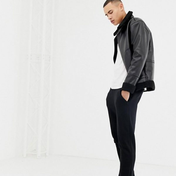 Buy Black Leather Jacket For Men