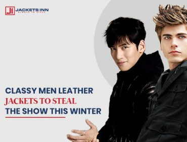 5 Classy Men Leather Jackets For Winter