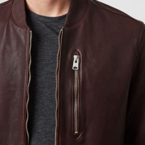Cheap Bomber Leather Jacket For Men