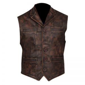Anson Mount Hell On Wheels Cullen Bohannan Vest for men