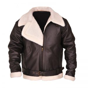 Classy Stylish Sheepskin Leather Jacket For Men