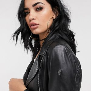 Buy Leather Black Bella Jacket Online