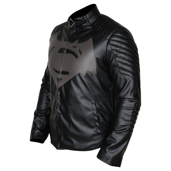 Buy Superman Gray Black Jacket with S Logo