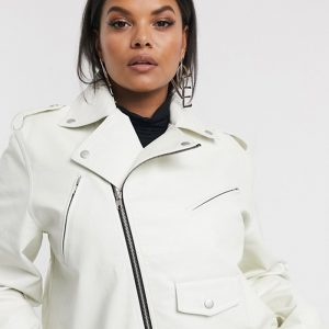 Buy Curve Biker Leather Jacket For Women