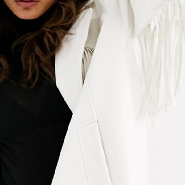 Buy Fringe Leather Jacket For Women