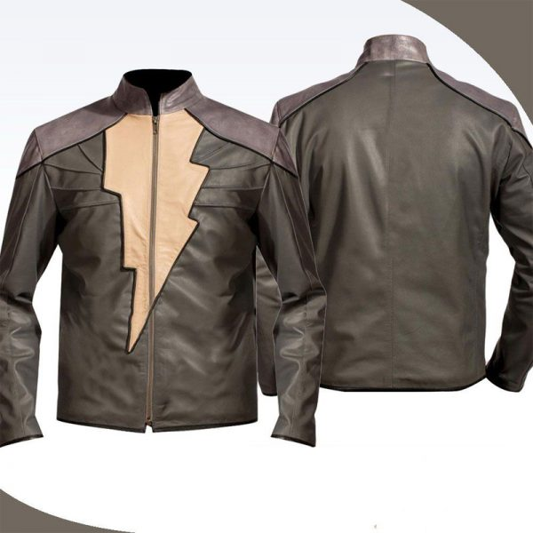 Black Adam Celebrity Replica Jacket By Dwayne Johnson Fashion
