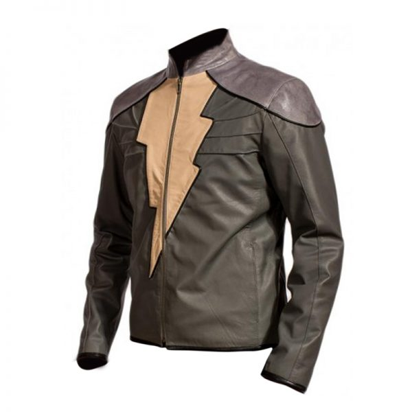 Black Adam Celebrity Replica Jacket By Dwayne Johnson