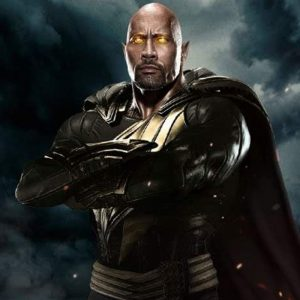 Dwayne Johnson Leather Jacket In Black Adam Movie